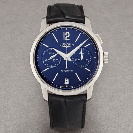 Vulcain Chronograph Automatic // 570157.311L // New
