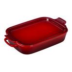 Rectangular Dish + Platter Lid (White)