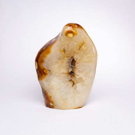 Caramel Polished Free Form Agate // Small