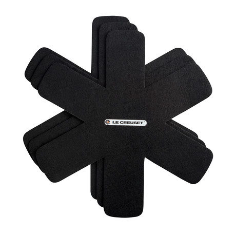 Felt Pan Protectors // Black // Set of 3