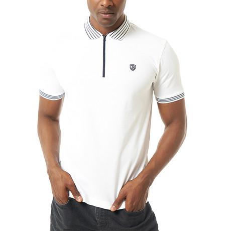 Verano Short-Sleeve Polo // White (Small)