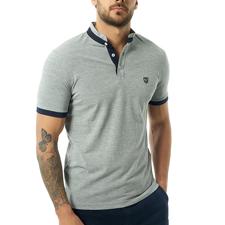 Vittore Short-Sleeve Polo // Gray (Small)