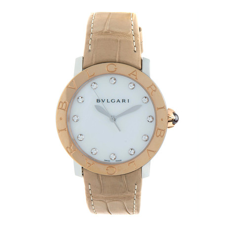Bulgari Ladies Automatic // BBLP33SG // Store Display