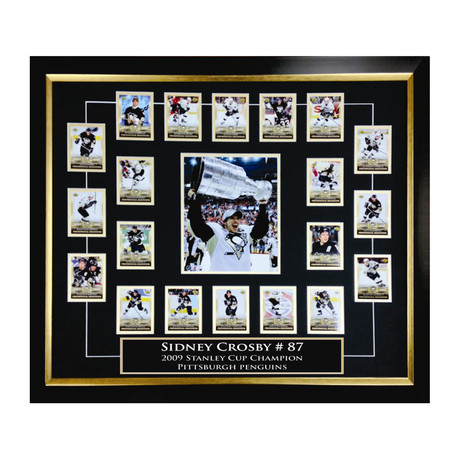 Sidney Crosby Rookie Card Set // Collectible Display