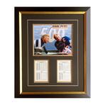 Bobby Hull + Brett Hull // Chicago Blackhawks + St. Louis Blues // Autographed Photo