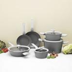 Leo Non-Stick 10Pc Cookware Set