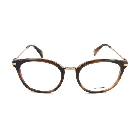 Men's VLN085M Optical Frames // Gray + Gold