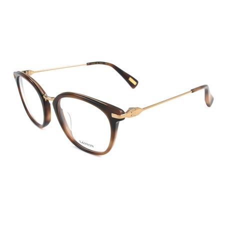 Men's VLN085M Optical Frames // Gray + Gold