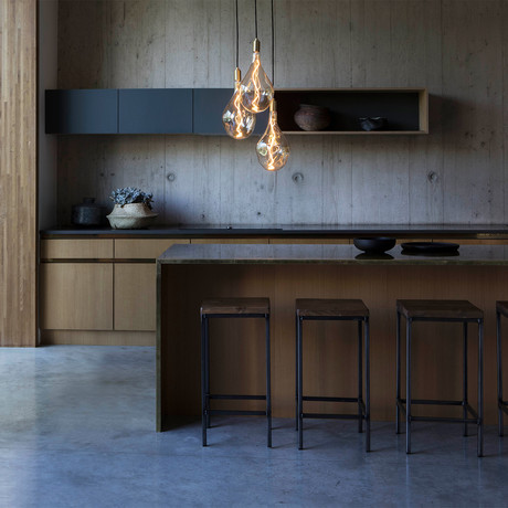Voronoi III Ceiling Light // Brass