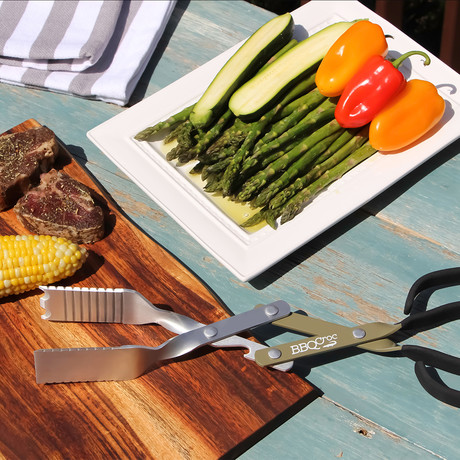BBQ Croc 3 in 1 Tool // 15""