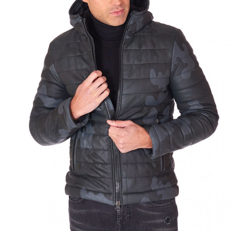 Teo Leather Jacket // Black (Euro: 44)