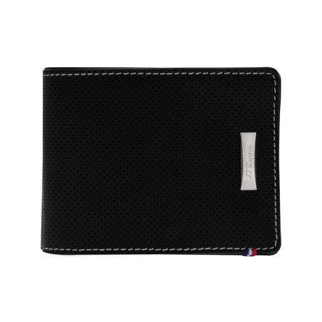 Defi Perforated Leather Wallet