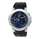 Harry Winston Ocean Dual Time Automatic // OCEATZ44WW002 // Pre-Owned