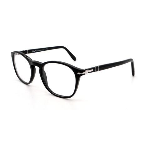 Persol // Men's PO3007V-95 Round Optical Frames I // Black