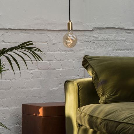 Voronoi I Pendant // Brass