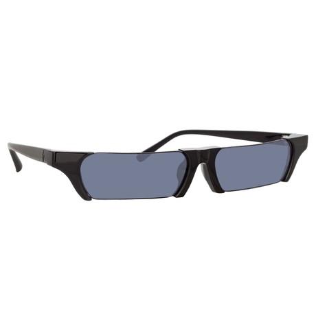 Marcelo Burlon // Unisex 2C1 Sunglasses // Black + Gray