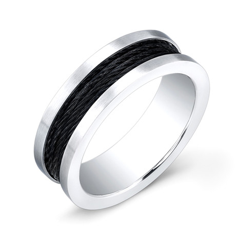 Cable Ring // Cobalt + Black (7)