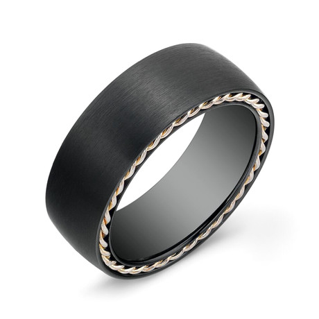 Matte Tiffany Comfort Fit + Wired Edge Ring (5)