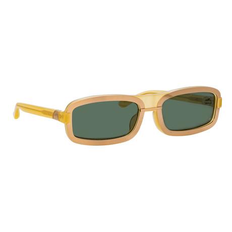 Y/Project // Unisex 6C4 Sunglasses // Mustard + Rose Gold + Gray