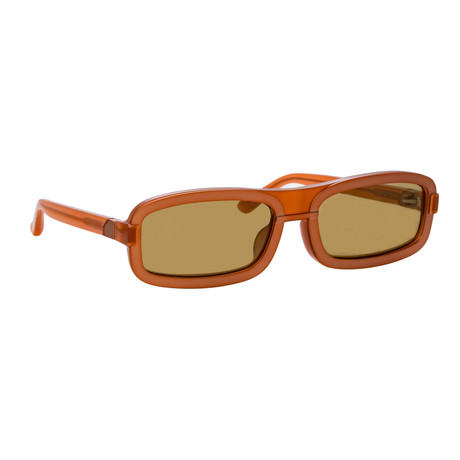 Y/Project // Unisex 6C3 Sunglasses // Amber + Matte Brown + Solid Khaki