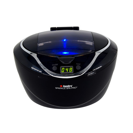 Sparkle Spa Pro // Personal Ultrasonic Jewelry Cleaner (Black)