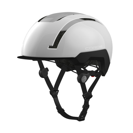 SafeSound Smart Urban Cycling Helmet // White (Small)
