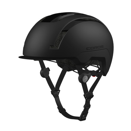SafeSound Smart Urban Cycling Helmet // Black (Small)