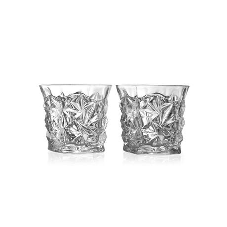 Diamond Luxury Elegant Whiskey Glasses