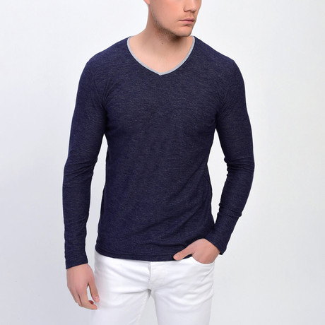Desert Sweatshirt // Navy Blue (XS)