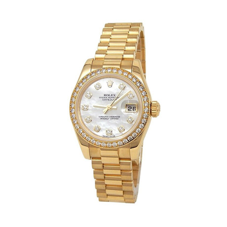 Rolex Ladies Datejust Automatic // 179138 // Z Serial // Pre-Owned