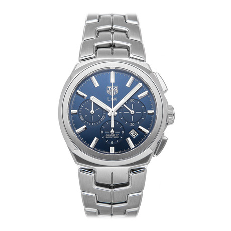 Tag Heuer Link Chronograph Automatic // CBC2112.BA0603 // Pre-Owned