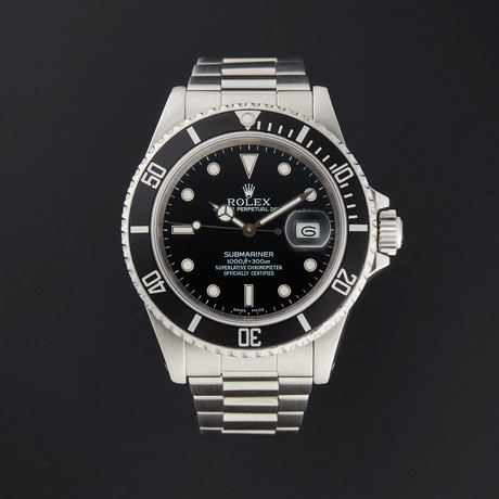 Rolex Submariner Automatic // 16610 // L Serial // Pre-Owned