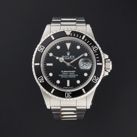 Rolex Submariner Automatic // 16610 // R Serial // Pre-Owned
