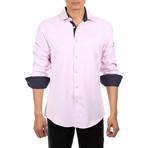 Mason Long Sleeve Button Up Shirt // Pink (2XL)