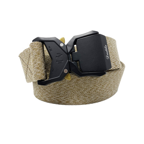 Dadilu Tactical Quick Release Belt // Gray + Olive
