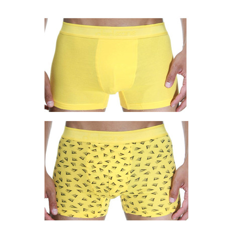 Milo Boxer // Yellow // Pack of 2 (Small)