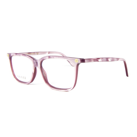 Women's 0094O Rectangle Optical Frames // Purple