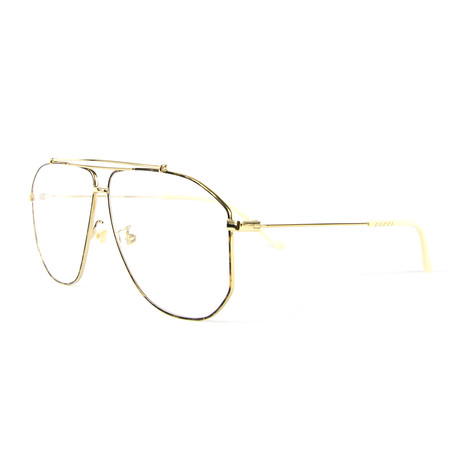 Men's 0441O Optical Frames // Gold