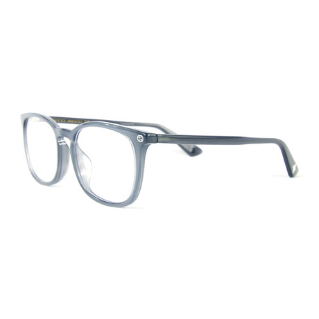 Unisex 0122OA Rectangular Optical Glasses // Blue