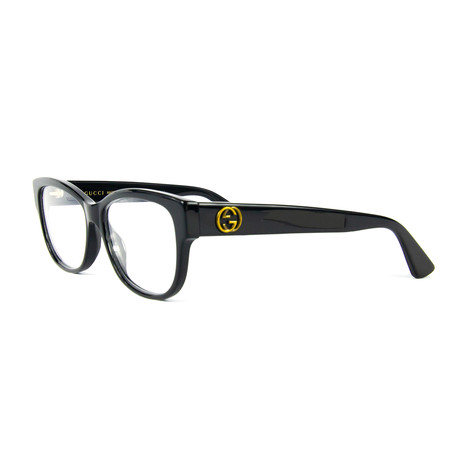 Women's 0098O Sensual Romantic Optical Frames // Black