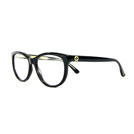 Women's 0310O Cat Eye Optical Frames // Black