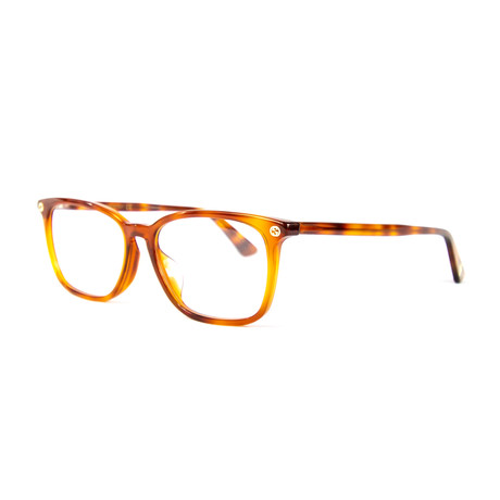 Unisex 0156OA Optical Glasses // Havana
