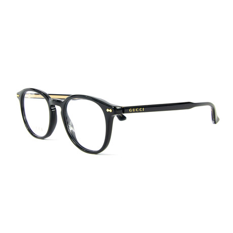 Men's 0187O Optical Frames // Black