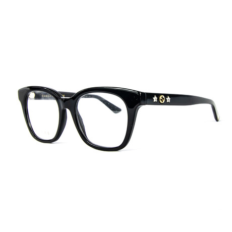 Women's Rectangular Optical Frames // Black