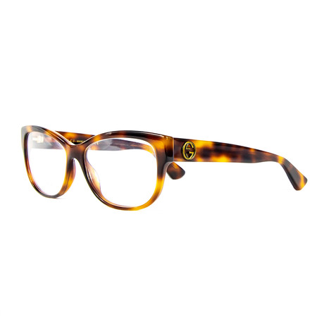 Women's 0098O Brille Optical Frames // Havana
