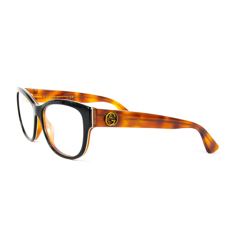 Women's 0098O Brille Optical Frames // Black + Havana