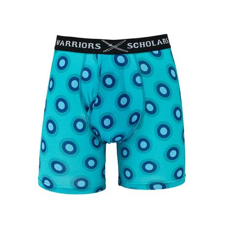Rubix Cotton Softer Than Cotton Boxer Brief // Blue (S)