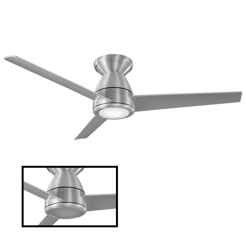 Tip Top Indoor + Outdoor 3-Blade Smart Flush Mount Ceiling ...