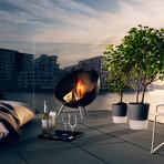 FireGlobe Fireplace // Black