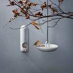Wall Mounted Bird Feeder Tube // White